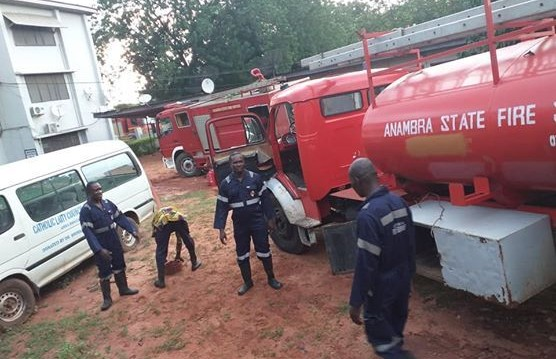 Mgbuka fire:Residents fault Anambra fire service over incompetence.