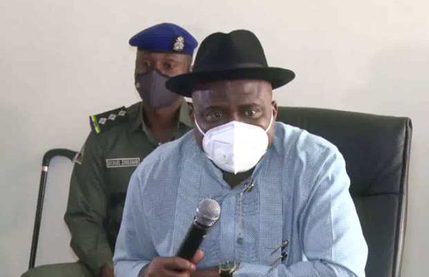 Bayelsa Governor Receives 10 Rescued Expatriates