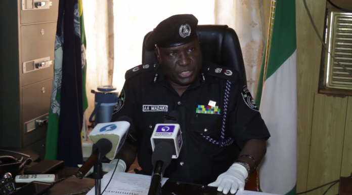 Five kidnappers repent, surrendered arms to the police
