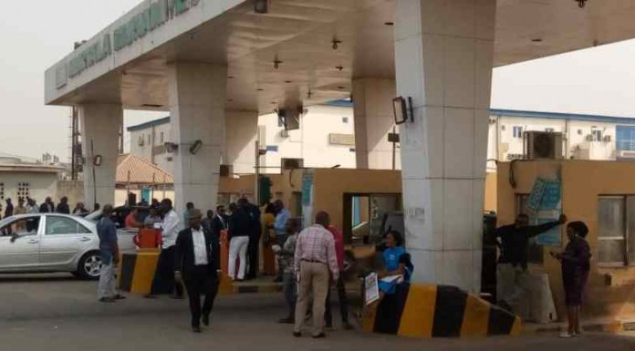 Aviation Unions' Takeover Lagos Airport Tollgate