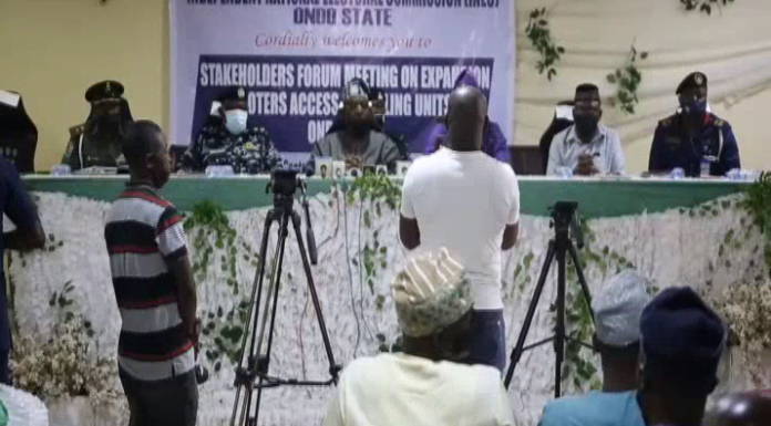 Ondo INEC Meets with Stakeholders on New Polling Units