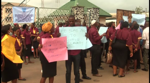 Oyo Legislative Workers Shut Assembly Indefinitely