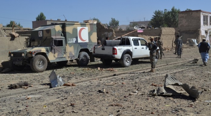 Several killed in Taliban car bomb attack in Ghazni