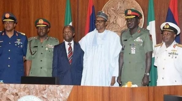 Insecurity: Buhari, Osinbajo, Security Chiefs, Others Meet