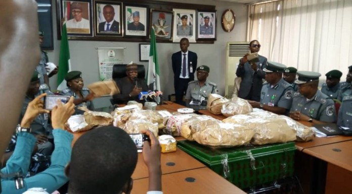 Customs Intercept $8.6m at Lagos Airport