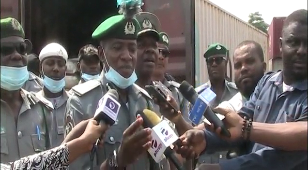 Customs Seizes over 2,115 Bags of Imported Rice, Cars