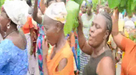 Delta Community Women Protest Alleged Neglect by Oil Firm