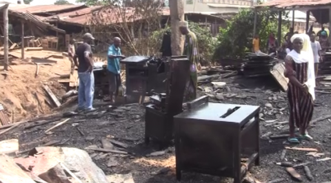 Traders Count Losses as Fire Razes 22 Shops at Bodija Market