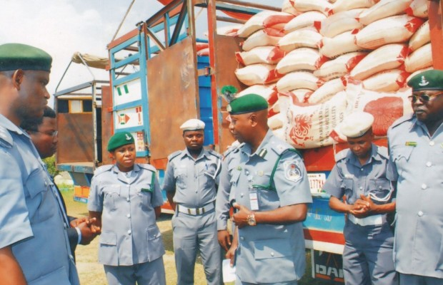 Palliative: Customs Releases 6,154 Bags of Rice