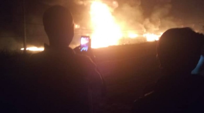 One Person Electrocuted as Petrol Tanker Explodes in Ibadan