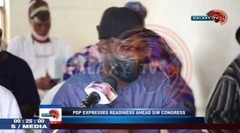 PDP Expresses Readiness ahead Southwest Congress.