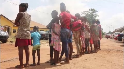 Police Rescue Expectant Mothers, Kids from Baby Factory
