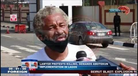 Lawyer Protest Killing, Demands Amotekun Implementation in Lagos