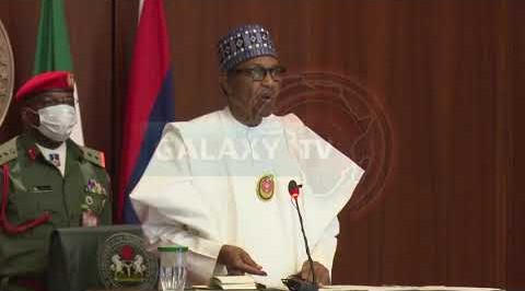 Buhari urges use of Gas as alternative to Petrol.