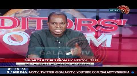Buhari's Return From UK Medical Trip
