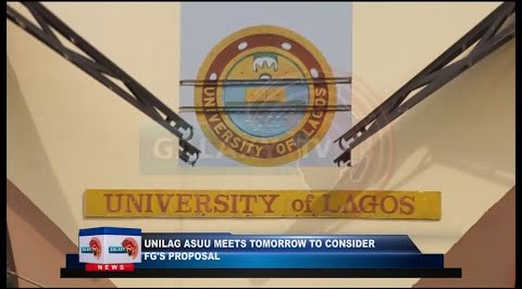 UNILAG ASUU meet to consider FG's Proposal.